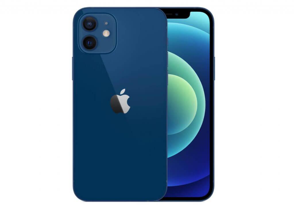 iphone 12 biru