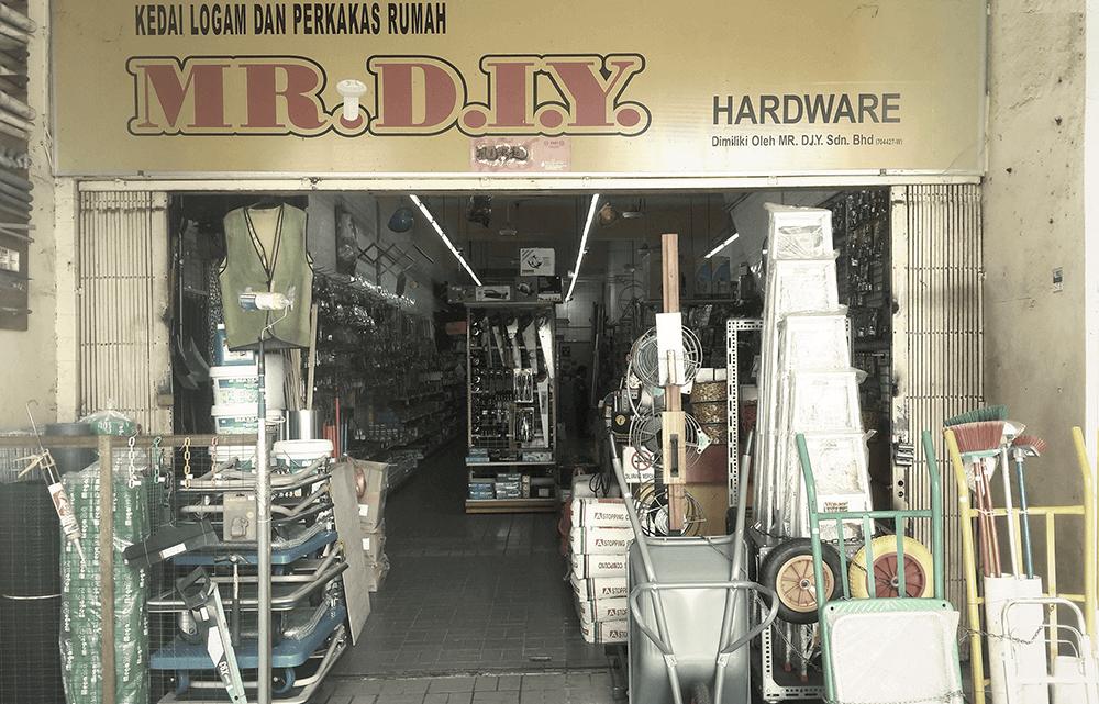 kedai mr diy lama