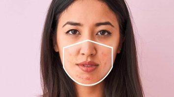 jerawat face mask