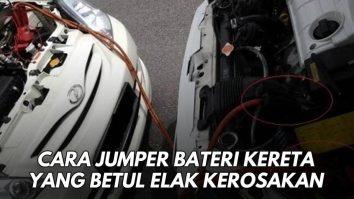 cara jumper kereta