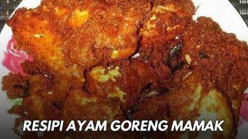 resipi ayam goreng mamak