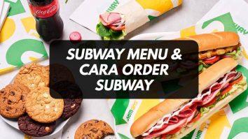 cara order subway