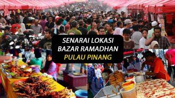 lokasi bazar ramadhan pulau pinang