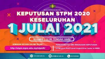 keputusan stpm 2020