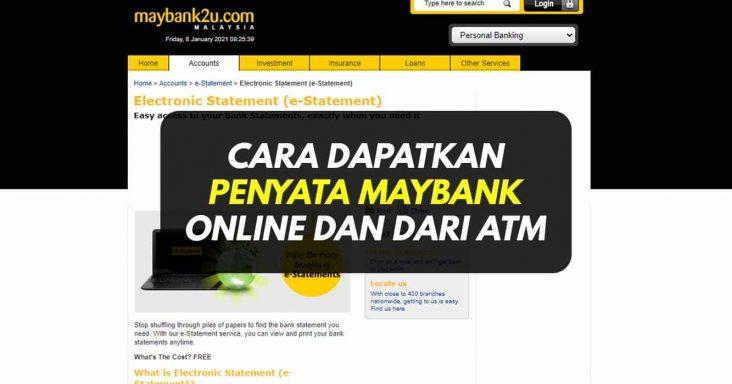 penyata maybank online