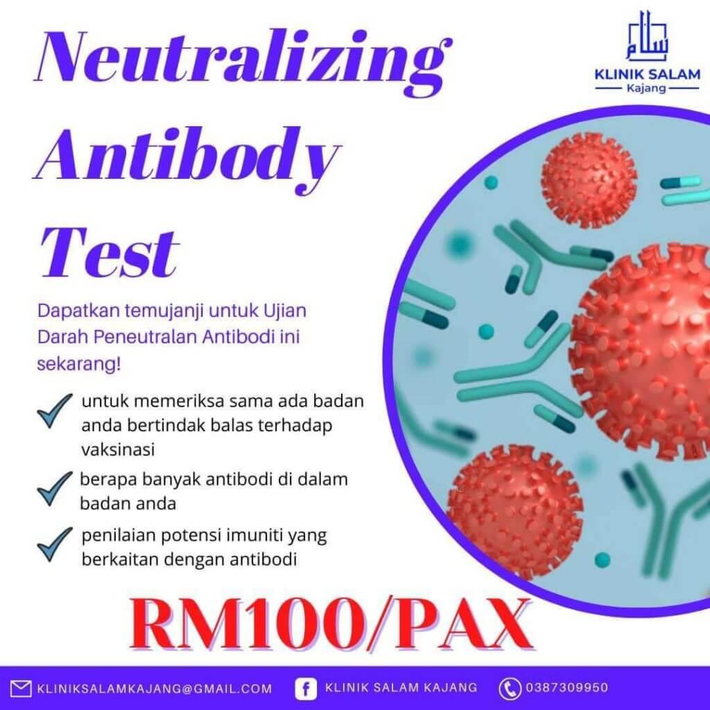 harga ujian antibodi peneutralan