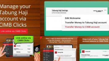 cara keluarkan duit tabung haji online