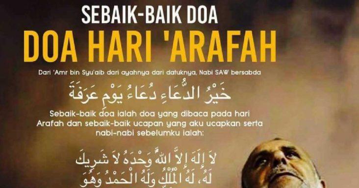 doa hari arafah
