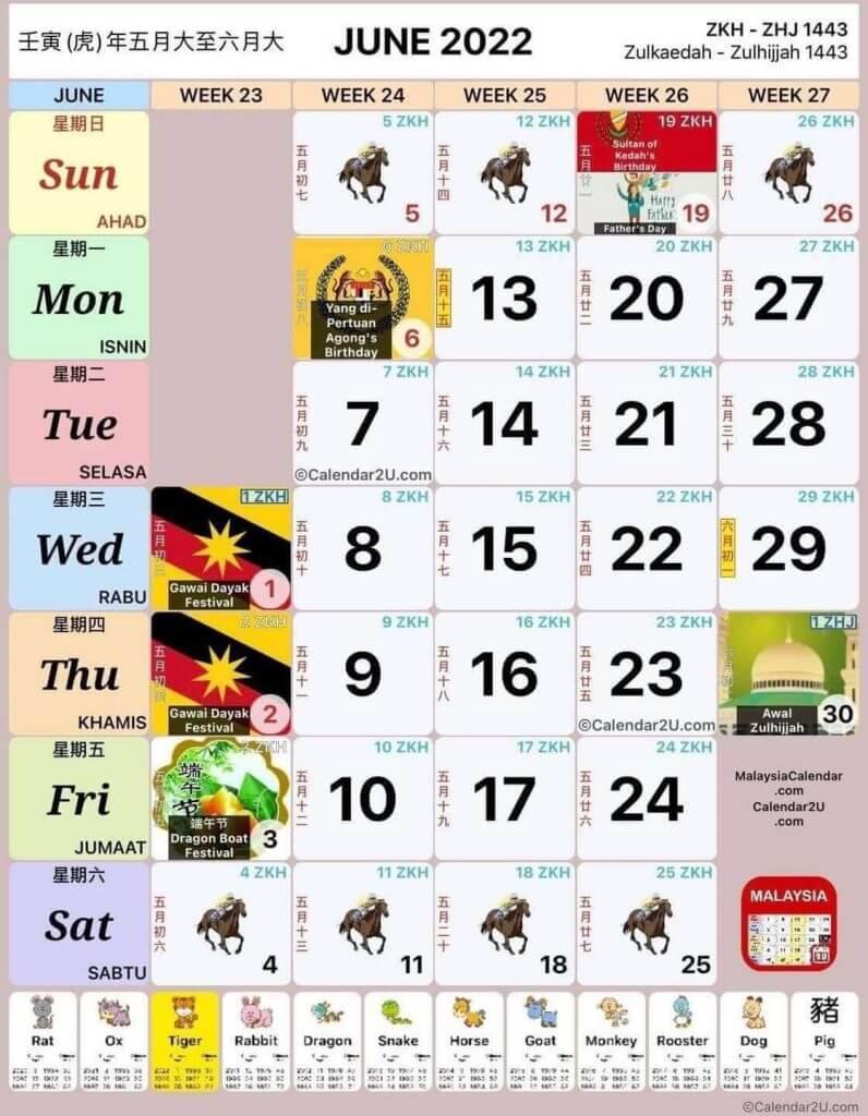 kalendar jun 2022