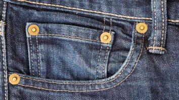 poket kecik jeans