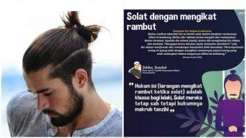 hukum lelaki ikat rambut