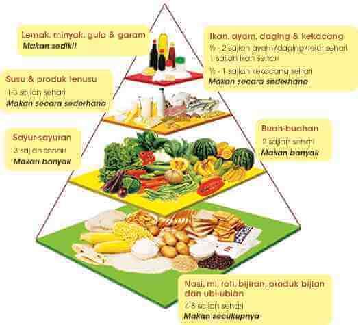 Piramid Makanan KKM