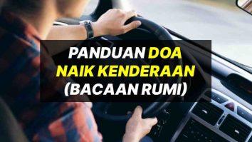 doa naik kenderaan